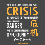 Crisis quotation