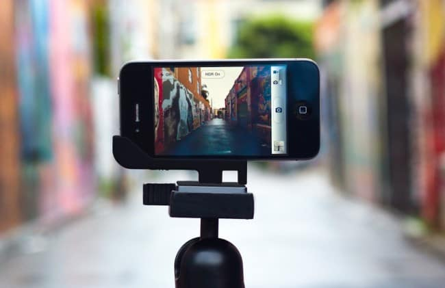 Video training for smartphones